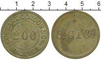 Изображение Монеты Мадейра 200 рейс 0 Латунь XF