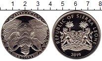 Изображение Мелочь Сьерра-Леоне 1 доллар 2019 Медно-никель UNC