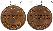 Изображение Монеты Швеция Жетон 0 Латунь XF Жетон BONIK SWEDEN