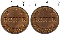 Изображение Монеты Европа Швеция Жетон 0 Латунь XF