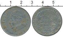 Изображение Дешевые монеты Северная Америка Мексика 1 песо 1982