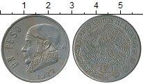 Изображение Дешевые монеты Северная Америка Мексика 1 песо 1977