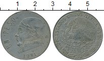 Изображение Дешевые монеты Мексика 1 песо 1981