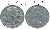 Изображение Дешевые монеты Австралия 20 центов 1966