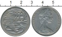 Изображение Дешевые монеты Австралия 20 центов 1967