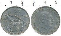 Изображение Дешевые монеты Испания 25 песет 1957