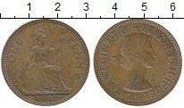 Изображение Дешевые монеты Европа Великобритания 1 пенни 1962