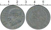 Изображение Дешевые монеты Северная Америка Мексика 1 песо 1971