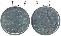 Изображение Дешевые монеты Финляндия 1 марка 1982