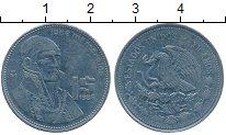 Изображение Дешевые монеты Северная Америка Мексика 1 песо 1986