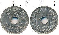 Изображение Дешевые монеты Франция 10 сантим 1939