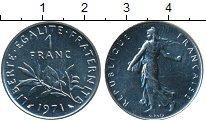 Изображение Дешевые монеты Франция 1 франк 1971