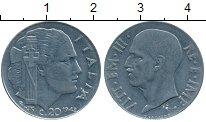 Изображение Дешевые монеты Европа Италия 20 чентезимо 1942