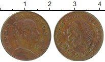 Изображение Дешевые монеты Мексика 5 сентаво 1965