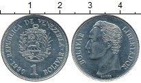 Изображение Дешевые монеты Венесуэла 1 боливар 1990