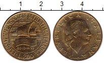 Изображение Монеты Европа Италия 200 лир 1992 Латунь UNC-