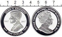 Изображение Монеты Северная Америка Виргинские острова 1 доллар 2017 Серебро Proof