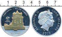 Изображение Монеты Острова Кука 10 долларов 2010 Серебро Proof-