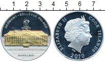 Изображение Монеты Новая Зеландия Острова Кука 10 долларов 2010 Серебро Proof-
