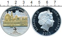 Изображение Монеты Острова Кука 10 долларов 2012 Серебро Proof-