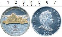 Изображение Монеты Новая Зеландия Острова Кука 10 долларов 2008 Серебро Proof-