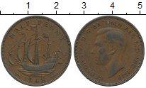 Изображение Дешевые монеты Великобритания 1/2 пенни 1948