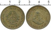 Изображение Дешевые монеты Африка ЮАР 1/2 цента 1963
