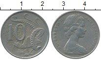 Изображение Дешевые монеты Австралия 10 центов 1970