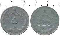 Изображение Дешевые монеты Иран 5 риалов 1350