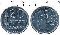 Изображение Дешевые монеты Бразилия 20 сентаво 1977