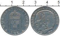 Изображение Дешевые монеты Швеция 1 крона 1977
