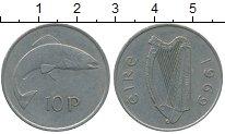 Изображение Дешевые монеты Ирландия 10 пенсов 1969