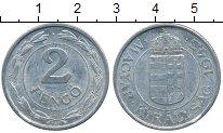 Изображение Дешевые монеты Европа Венгрия 2 пенго 1943