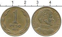 Изображение Дешевые монеты Чили 1 песо 1978