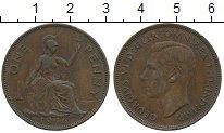 Изображение Дешевые монеты Европа Великобритания 1 пенни 1946