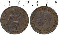 Изображение Дешевые монеты Великобритания 1 пенни 1938 Медь VF