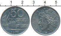 Изображение Дешевые монеты Бразилия 50 сентаво 1970