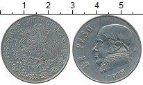 Изображение Дешевые монеты Северная Америка Мексика 1 песо 1975