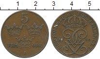 Изображение Дешевые монеты Европа Швеция 5 эре 1938