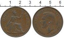 Изображение Дешевые монеты Европа Великобритания 1 пенни 1948