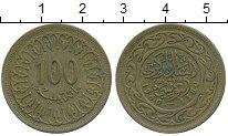 Изображение Дешевые монеты Тунис 100 миллим 1960