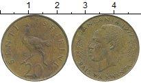Изображение Дешевые монеты Танзания 20 сенти 1977