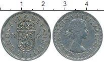 Изображение Дешевые монеты Великобритания 1 шиллинг 1954