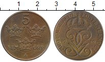 Изображение Дешевые монеты Европа Швеция 5 эре 1950