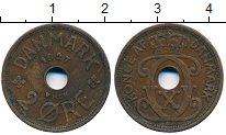 Изображение Дешевые монеты Европа Дания 2 эре 1927