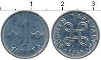 Изображение Дешевые монеты Финляндия 1 марка 1955