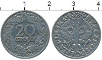 Изображение Дешевые монеты Польша 20 грош 1923