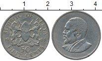 Изображение Дешевые монеты Кения 50 центов 1968