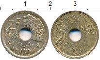 Изображение Дешевые монеты Европа Испания 25 песет 1996