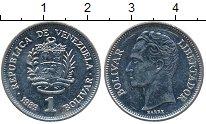 Изображение Дешевые монеты Венесуэла 1 боливар 1989